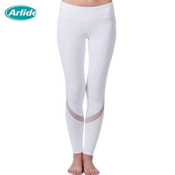 Breathable Tight Mesh Designed Women's Compression Pants
