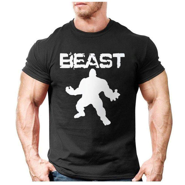 Beast T-shirt for Fitness and Bodybuilding