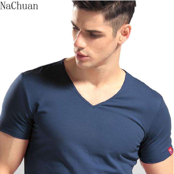 High Quality Men's Classic T-shirt for Fitness and Bodybuilding Enthusiasts