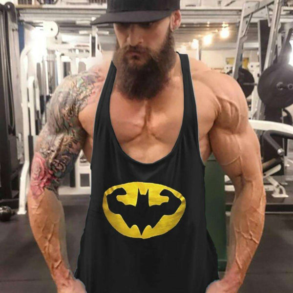 Men's Batman Bodybuilding Tank Top