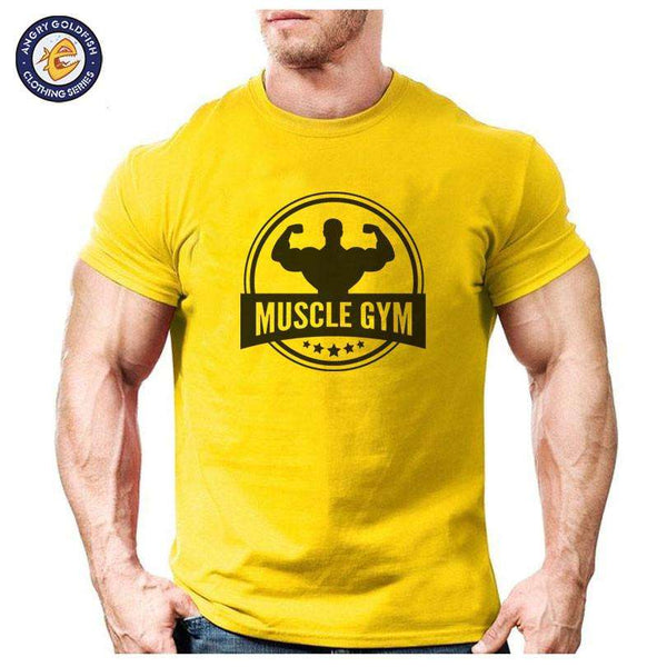 Muscle Gym Bodybuilding Tshirt