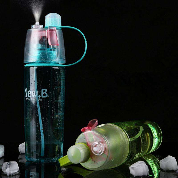 Spray Shaker Water Bottle 400ml/600ml