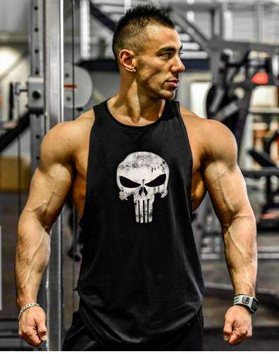 640efb733e602c Punisher Bodybuilding Tank top - High Quality ...