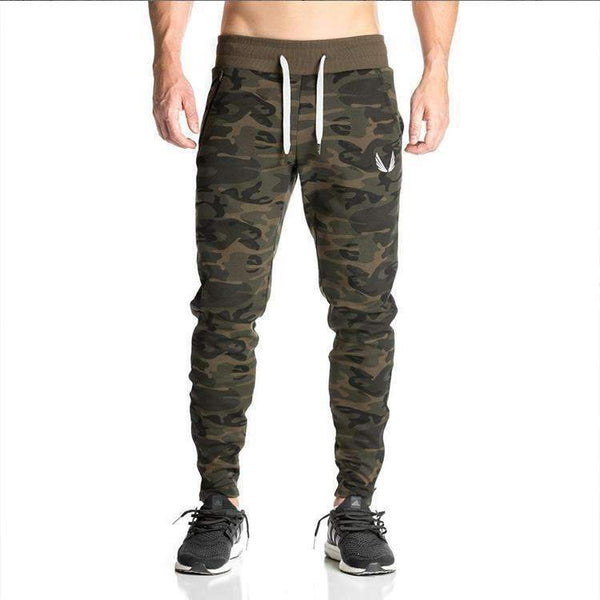 Casual Camouflage Bodybuilding Pant and Hoodies