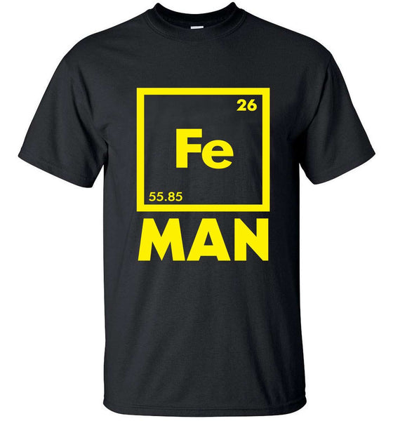 Science Iron Man T-shirt