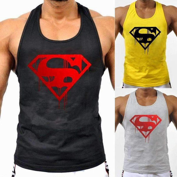 Blooded Superman Tank Top - High Quality