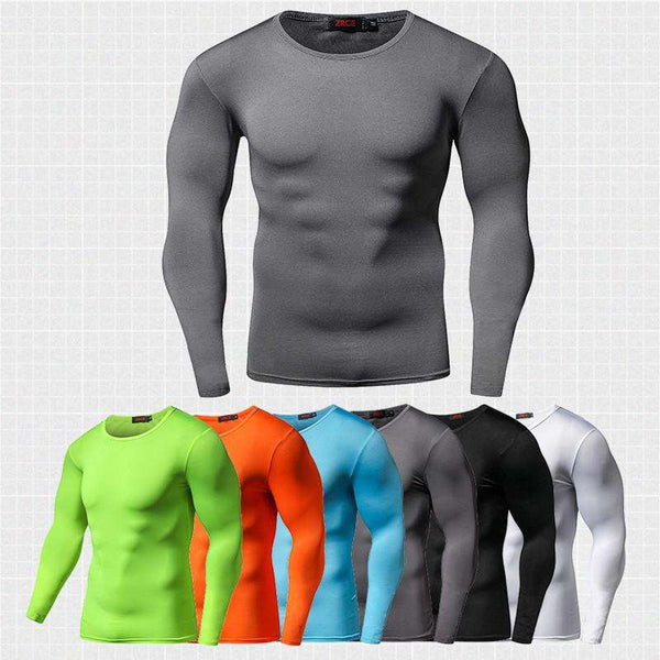 Quick dry Compression Shirt for Bodybuilding and Fitness