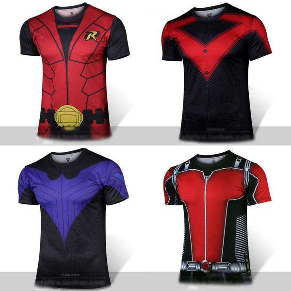 Super Hero Comfort Tshirt for Fitness