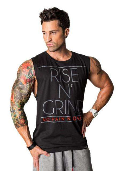 Rise N' Grind Bodybuilding Tank Top - High Quality