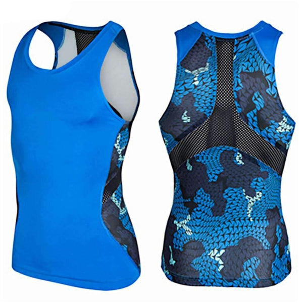 Compression Tank Top for Fitness and Bodybuilding