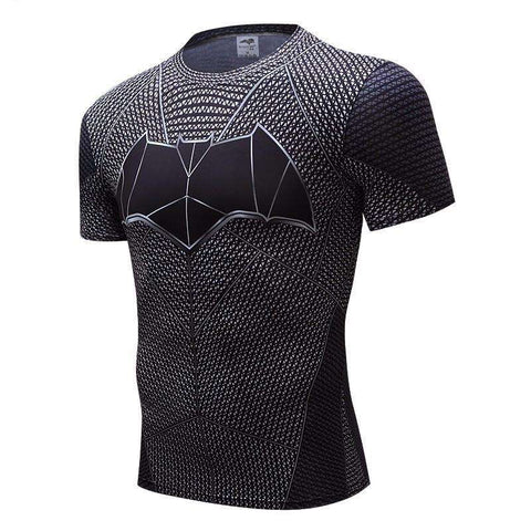Superhero 3D Compression Tshirt - High Quality