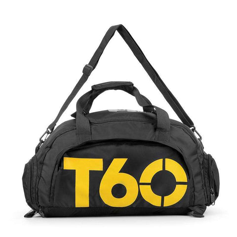 T60 Gym Bag Waterproof with Separate Space for Shoes