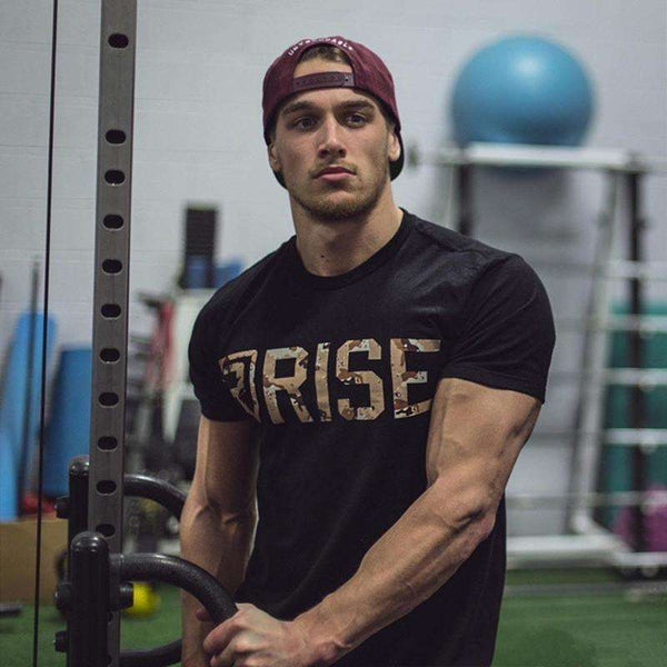RISE Bodybuilding Slim Fit Tshirt
