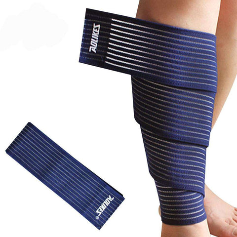 FREE Premium Quality Knee Wraps for Bodybuilding (Squats and Leg press)