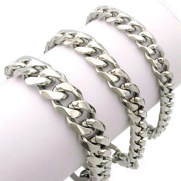 Premium Cuban Links Stainless Steel Bracelet - High Quality