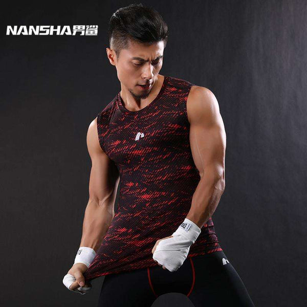 Men's Compression Vest - Bodybuilding and Fitness