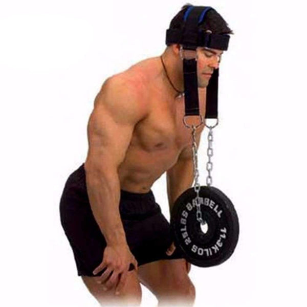 Neck weight Lifting grip Strengh Exercise Fitness Body Building