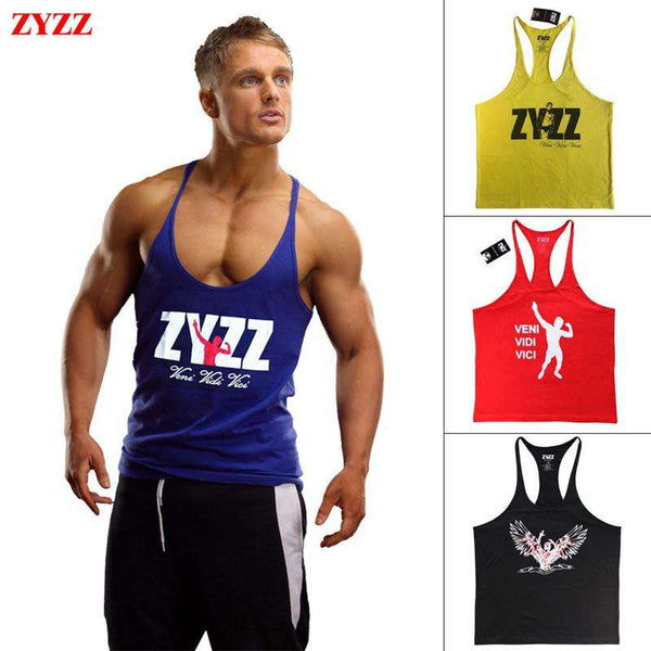 Zyzz Bodybuilding Tank Top - High Quality