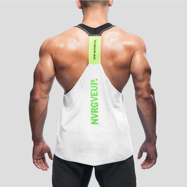Never Give Up Tank Top 2017 - High Quality