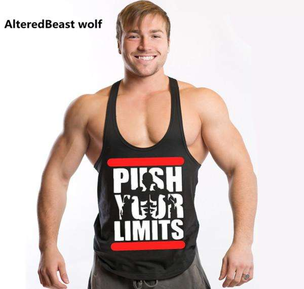Push Your Limits Tank Top - Bodybuilding
