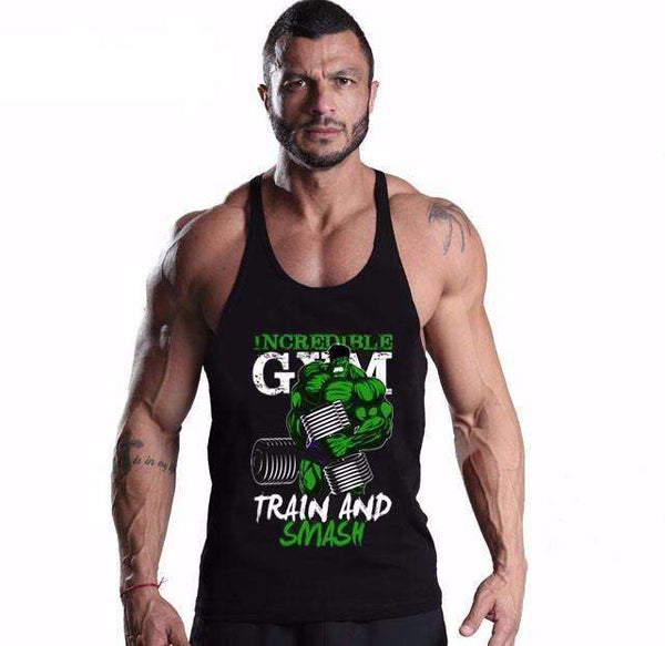 Hulk Smash Tank Top - Bodybuilding