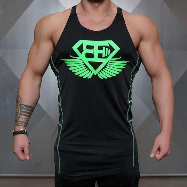 BE Fitness and Bodybuilding Tank Top - High Quality