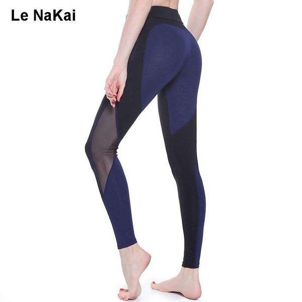 Mesh Panel Heart Booty Women's Sports Leggings