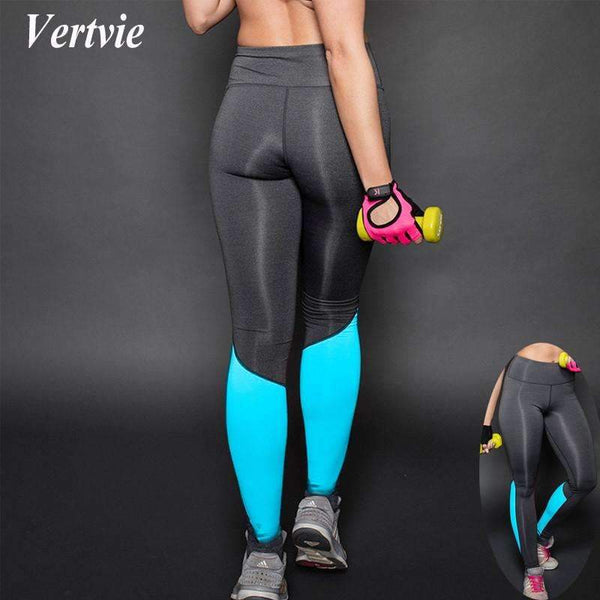 Athletic Women's Breathable Yoga Leggings - Compression Pants