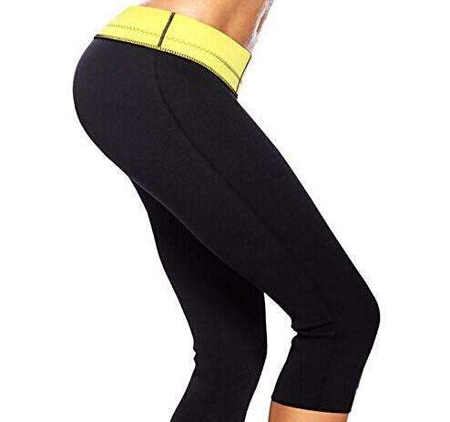 Women's Neoprene Super stretch slim fit Control pant for Fitness and Yoga