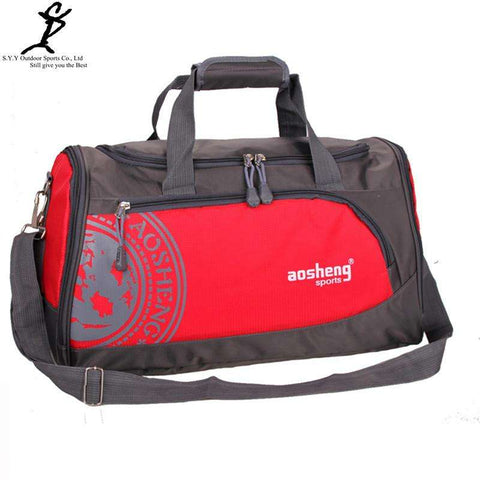 Nylon Outdoor Sport Bag Professional Men Fitness Shoulder Gym Bag