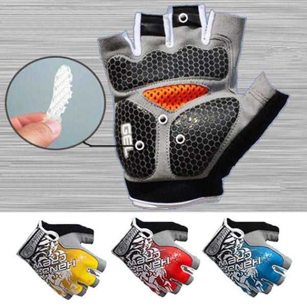3D Gel Padded Gym Gloves for Bodybuilding and Fitness