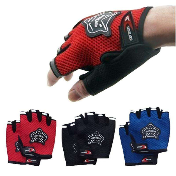 FREE Microfibre Gym Gloves Breathable for Bodybuilding