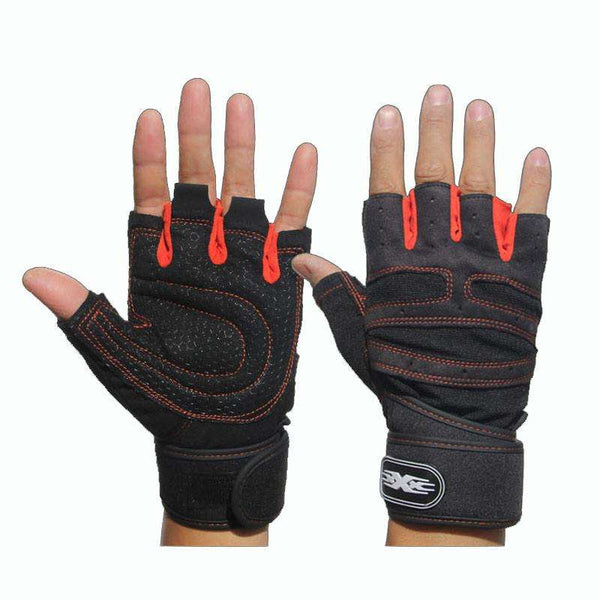 FREE Non-Slip Gym Gloves for Bodybuilding and Fitness with wrist wraps
