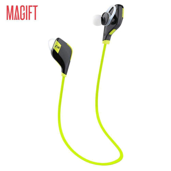 Bluetooth Headphones Stereo Wireless Bluetooth Earbuds for Sport Running Gym Exercise Sweatproof CVC 6.0 Noise-Cancelling Wireless Bluetooth Earphones Microphone