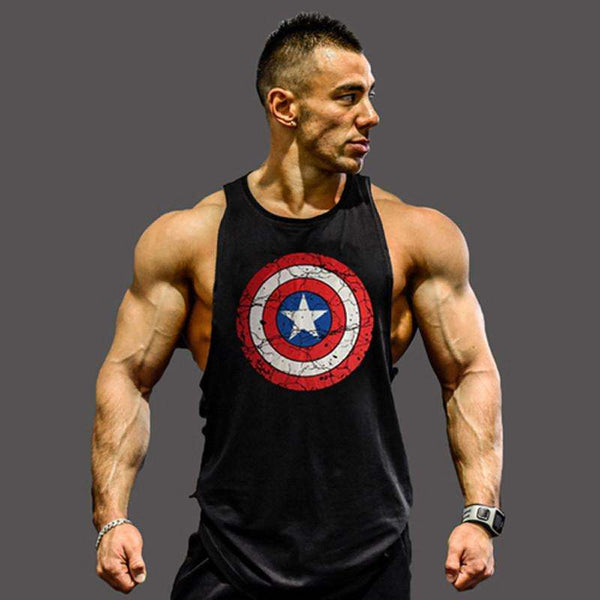 Marvel Bodybuilding Tank Tops