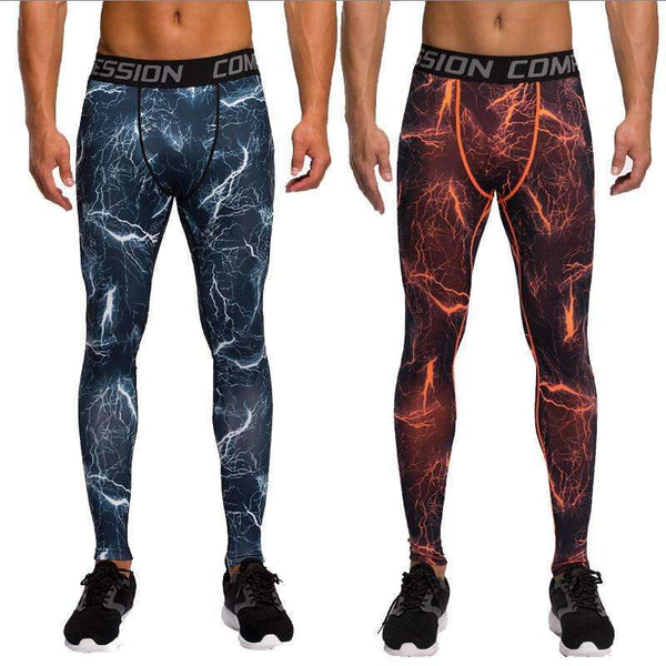 Camouflage Fitness Compression Pants