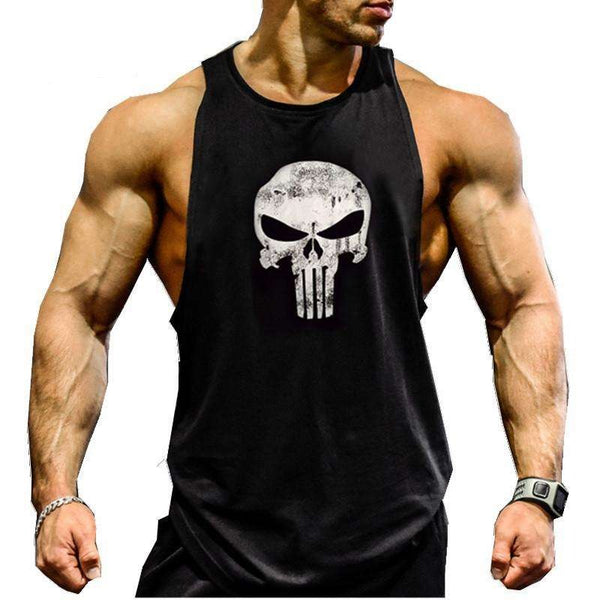 Punisher, Superman Bodybuilding Tank tops - High Quality
