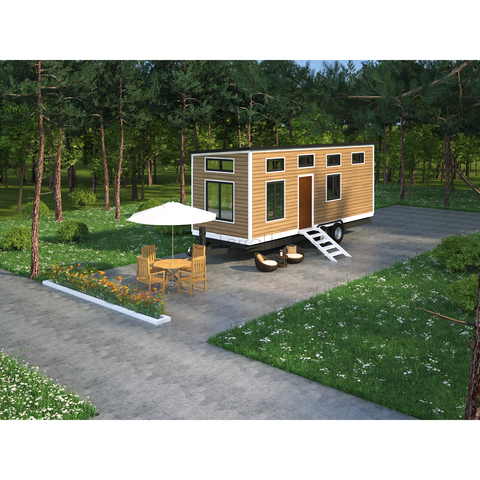 TINY HOME 1BR 1BA 192SF + 96SF LOFT TINY HOUSE - 8'X24' AW MODEL