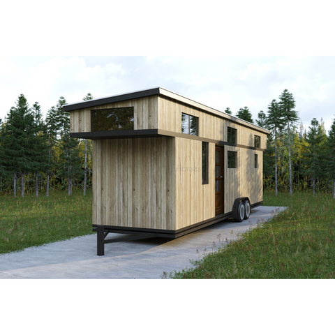 TINY HOME 2BR 1BA 256SF + 184SF LOFT TINY HOUSE - 8'X38'