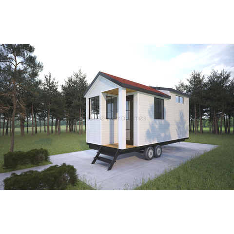 GreenTerraHomes Steel Frame Tiny Homes, Prefab Tiny Homes on Wheels RV