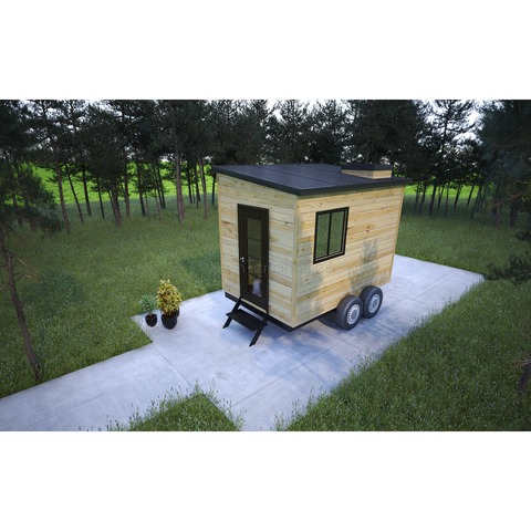 TINY HOME 8'X12'  96SF 1BR 1BA THE PAN MICRO RV TRAILER