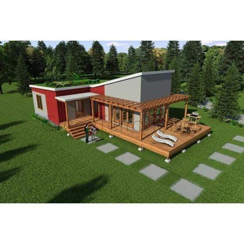 2 BD 1 BA 870 sq ft Contemporary Kit Home-Kit Home-BryanBaeumler-GreenTerraHomes