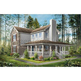 SHELL HOME PACKAGE 3BR 2.5BA 2462SF THE MILAN NS4355 MODERN MODULAR HOUSE-GreenTerraHomes