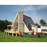 SHELL HOME PACKAGE A-FRAME 7BR 7BA 2500SF THE DENALI-x MODULAR AFRAME