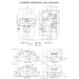 PREFAB HOME KIT 4BR 2.5BA 1919SF THE ELLSWORTH NS2850 MODERN PREFAB KIT HOUSE-GreenTerraHomes