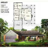 PREFAB HOME KIT 3BR 2BA 2CAR GARAGE 2706SF THE ARDLEY NS5064 PREFAB KIT HOUSE-GreenTerraHomes