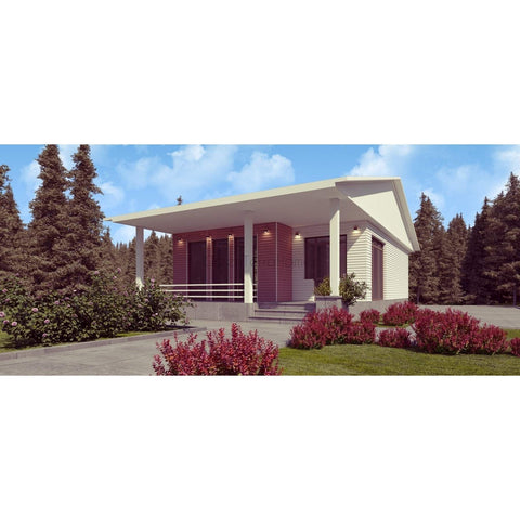 Greenterrahomes Steel Prefab Home Kit Landhaus Modern Prefab Kit House