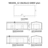 STEEL BUILDINGS - 18' WIDE METAL BUILDINGS FREE SHIPPING, LOCAL INSTALLATION AVAILABLE-GreenTerraHomes