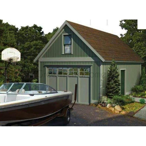BOAT HOUSE STEEL GARAGE KIT NG1428 14X28 392SF-GreenTerraHomes