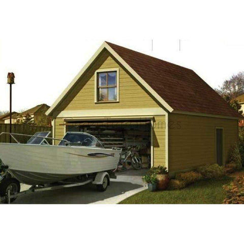 BOAT HOUSE STEEL GARAGE KIT NG1632 16X32 512SF-GreenTerraHomes